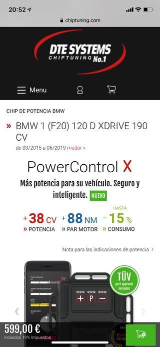 Chip de Potencia BMW F20