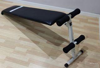 banco abdominales fitness plegable
