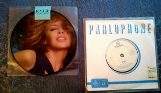 KYLIE MINOGUE PICTURE DISC + ETCHED DISC