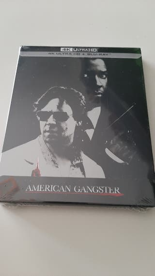 American Gangster 4K UHD steelbook bluray