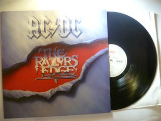 AC/DC The Razors Edge LP Vinilo Primera Ed 1990