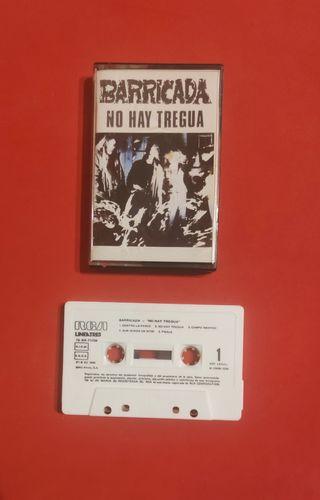cassette BARRICADA no hay tregua