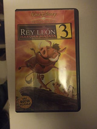 Pelicula El Rey Leon 3, Hakuna Matata en VHS