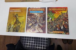 Tres libros Warhammer