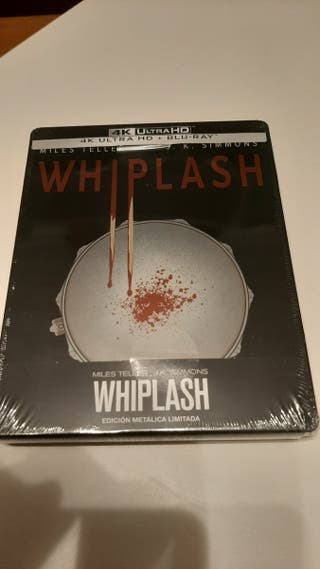 Whiplash 4K UHD steelbook bluray