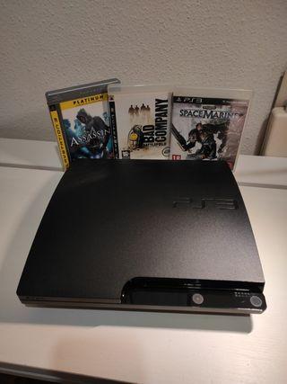 PlayStation 3 + juegos PS3.