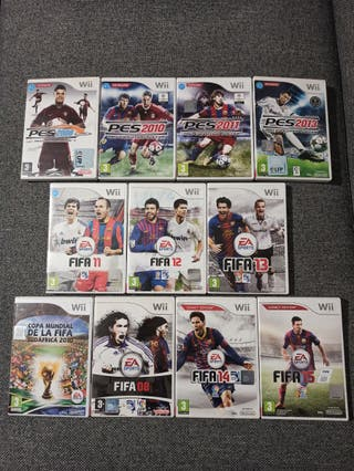 Wii Videojuegos FIFA y PRO