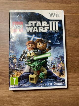 Juego wii Star Wars lego The clone wars