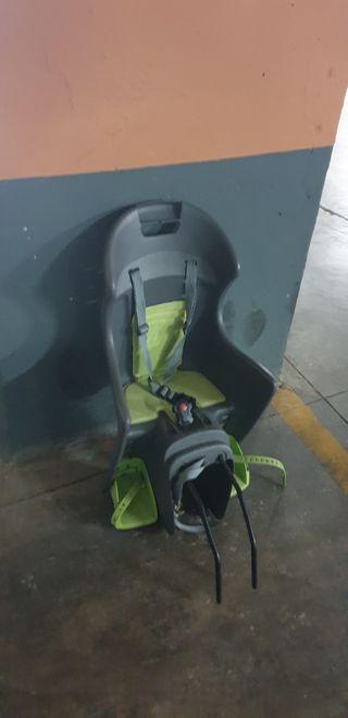 silla bici portabebes