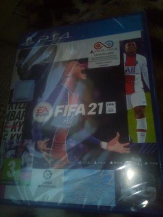 FIFA 21 PRECINTADO NUEVO