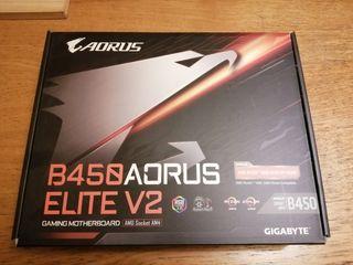 Placa Base Aorus B450 Elite V2 Gygabite