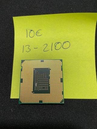 Procesador Intel I3 2100 Socket 1155