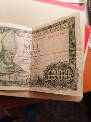 1000 pesetas 1965