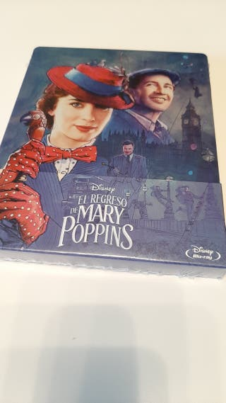 El Regreso de Mary Poppins steelbook bluray