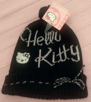 "Gorro de lana """"Hello Kitty"""""