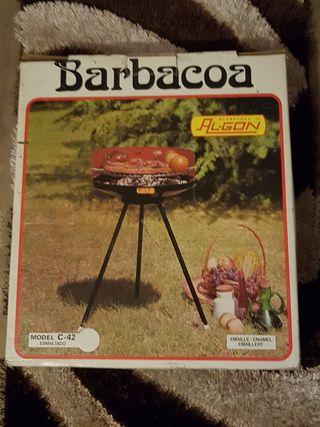 Barbacoa vintage