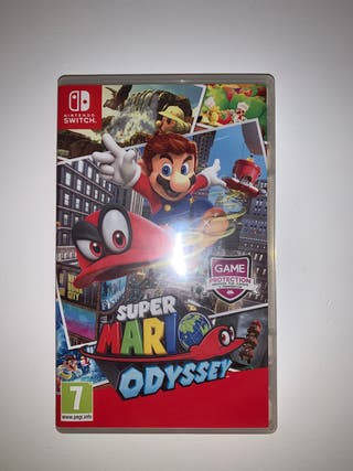 Súper Mario Odyssey Nintendo Switch