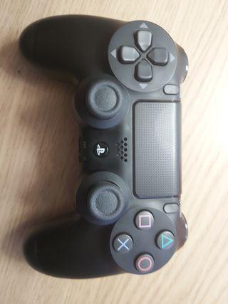 Mando PS4 + Regalo (Funda de silicona Naranja)