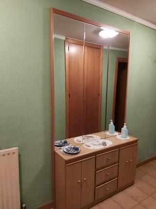 Mueble recibidor con espejo. SÓLO ESTA SEMANA.