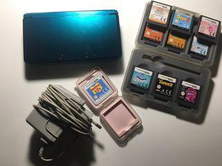 Nintendo 3DS más 10 juegos