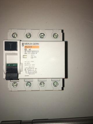 Interruptor diferencial 4P 80A 300mA