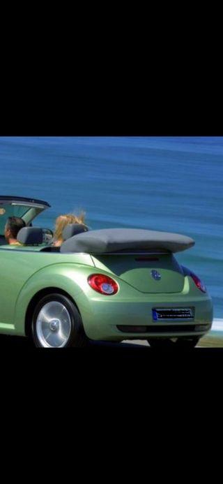 Cubre capota Volkswagen New Beatle beige