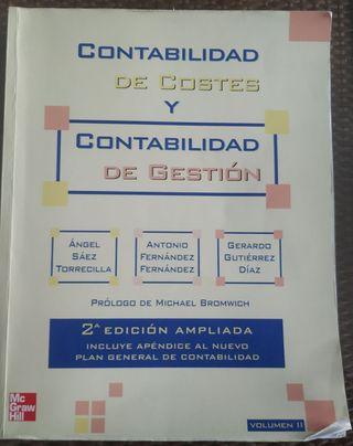 CONTABILIDAD DE COSTES Y CONTABILIDAD DE GESTIÓN 2