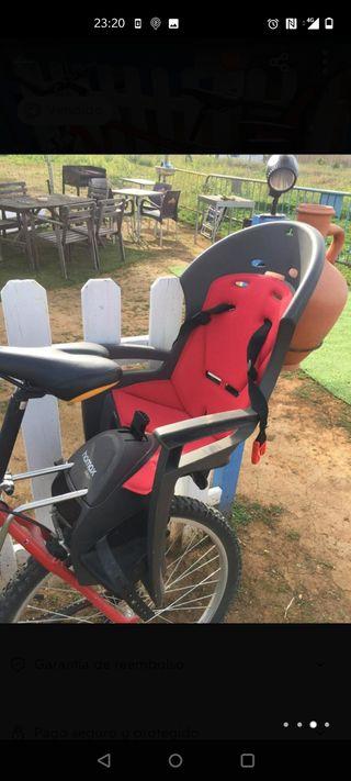 Silla de bicicleta