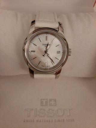 Reloj Tissot Lady Mujer Plateado y Blanco