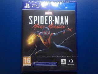 SPIDERMAN MILES MORALES PS4 (precintado)