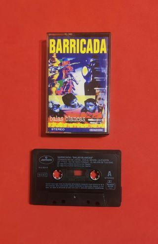 cassette BARRICADA balas blancas
