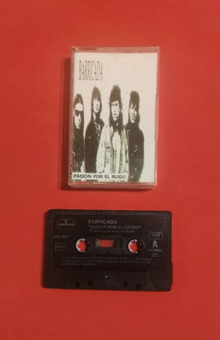 cassette BARRICADA pasión por el ruido