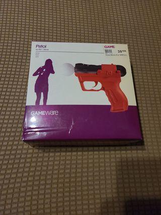 Pistola para mando move ps3