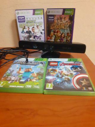 Kinect y juegos XBox 360