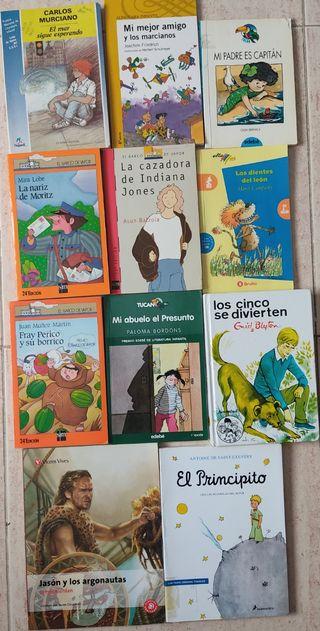 Libros de lectura infantiles.