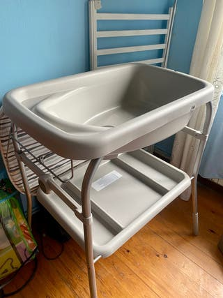 Cambiador-bañera bebé