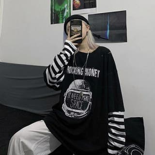 Camiseta de manga larga para mujer XL Nueva