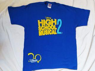 Camiseta High School Musical 2