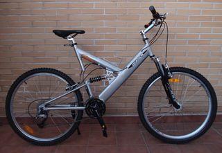 Bicicleta aluminio 26 doble suspensión