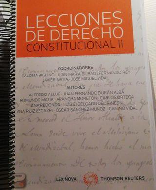 Lecciones de Derecho Constitucional II