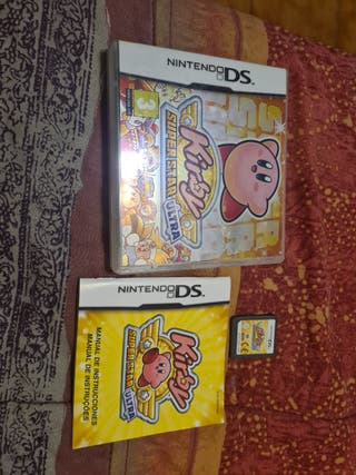 kirby super star ultra de nintendo ds pal españa