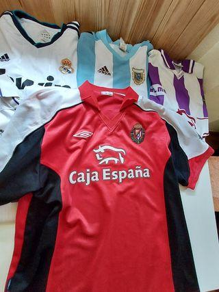 Camiseta Real Valladolid 01/02