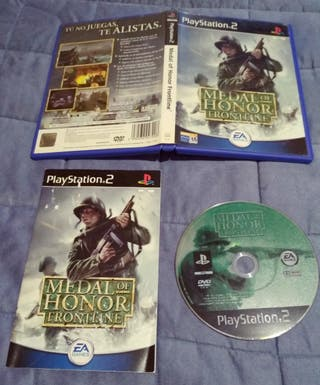 juego PlayStation2 medal of honor frontline