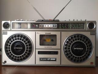 Vintage Sharp GF-9090X Radio Cassette Boombox