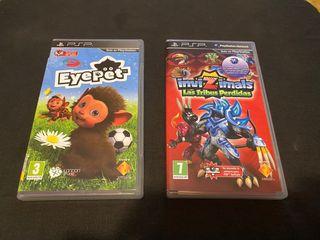 Eyepet y Invizimals PSP