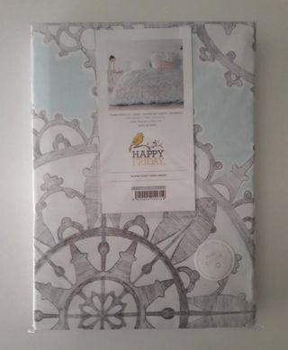 Funda nórdica 100% algodón cama 105 HAPPY FRIDAY