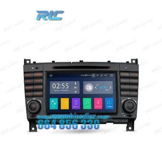 RADIO GPS ANRDOID 10 MERCEDES W203 (04-07) W209 (0