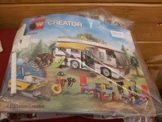 lego creator autocaravana 31052