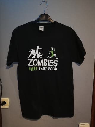 Camiseta zombies