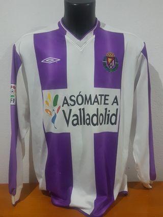 camiseta umbro del Valladolid